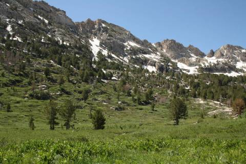 The Ruby Mountains Ranger District encompasses 450,000 acres and is managed by the Forest Servi ...
