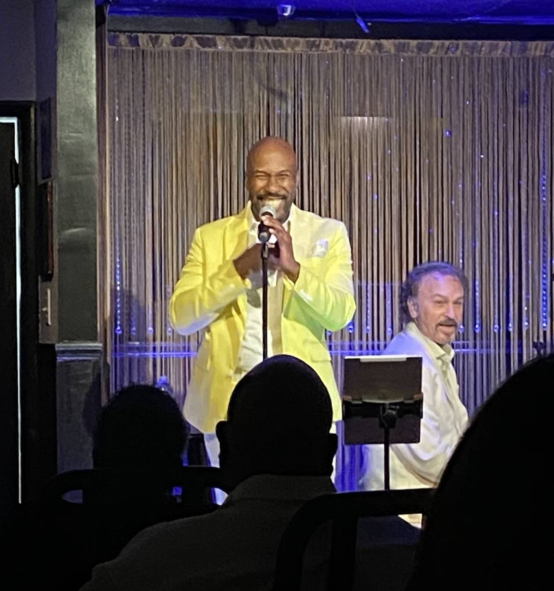 Eric Jordan Young and Philip Fortenberry are shown at The Vegas Room on Saturday, June 20, 2020 ...