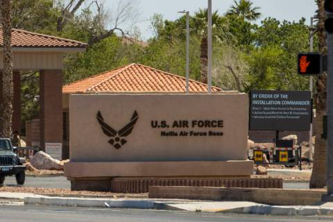 Military retirees are no longer allowed to enter and use the Nellis Air Force Base pharmacy whi ...
