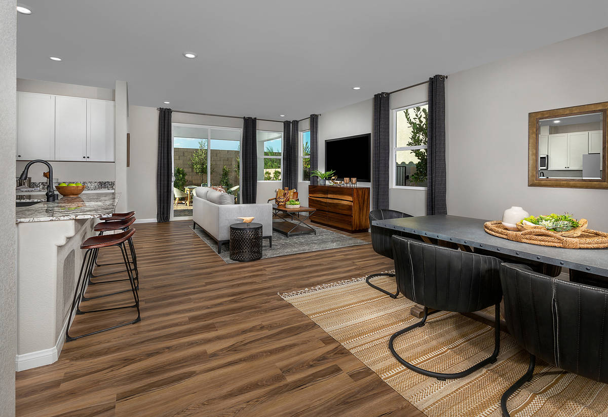 The Reserves neighborhood at Durham Ranch offers single-family homes with a variety of floor pl ...