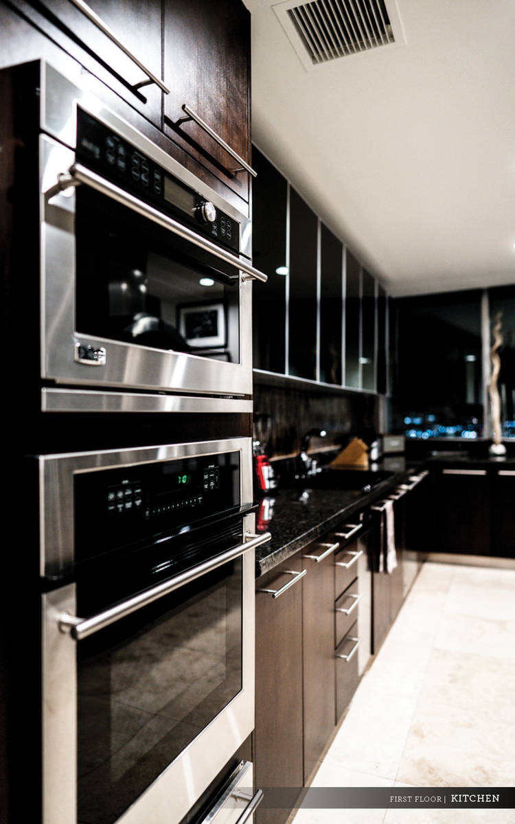 The kitchen has upgraded appliances. (Ivan Sher Group)