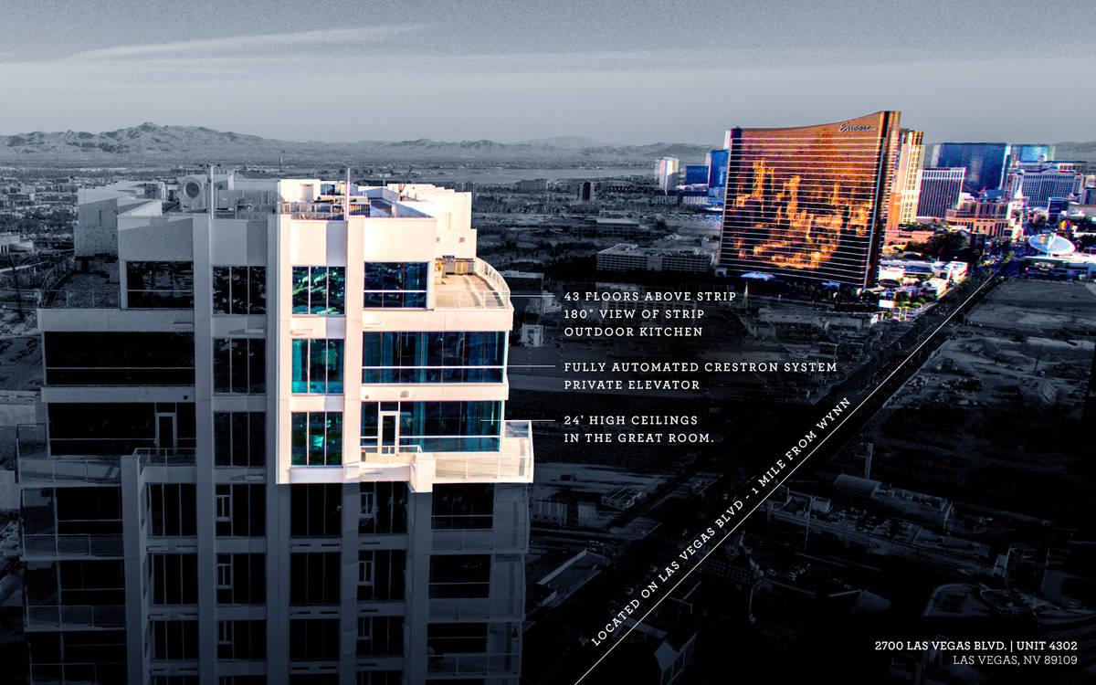 Sky Las Vegas Condominiums at 2700 S. Las Vegas Blvd. Ivan Sher Group)