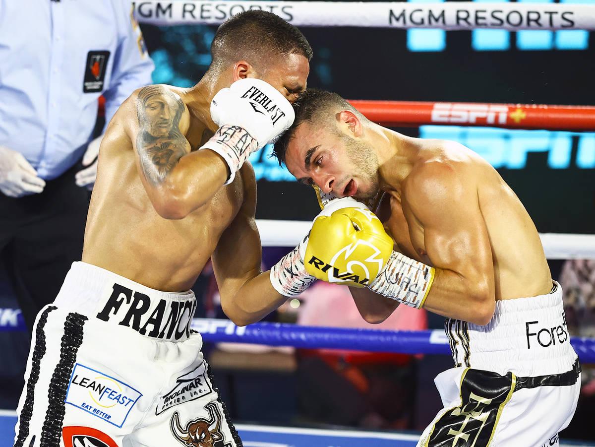 Joshua Franco stuns Andrew Moloney to win WBA title | Las Vegas ...
