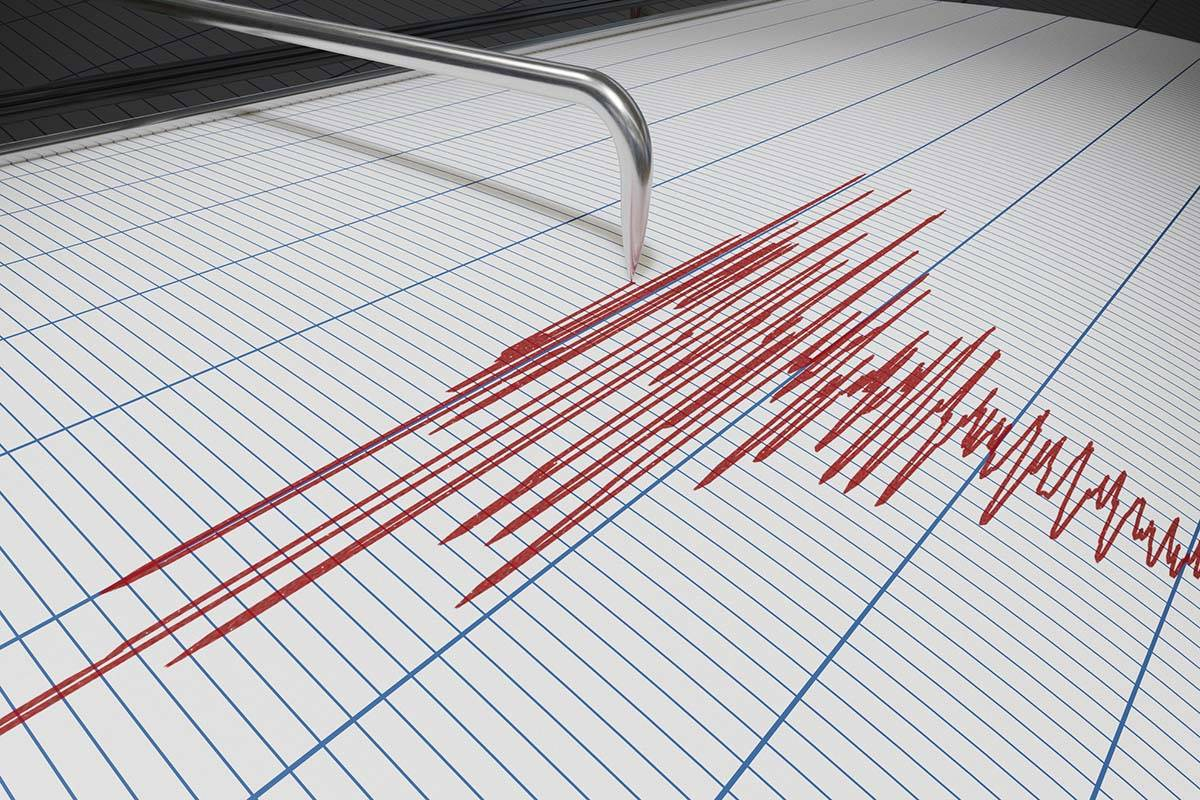 Seismograph for earthquake detection. (Getty Images)