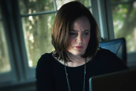 """True-crime author Michelle McNamara in a scene from """"I'll Be Gone in the Dark"""" (Robyn ..."""