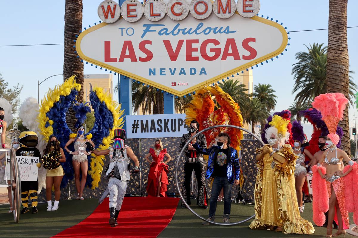 E+ Fashion Designer Jeffrey Debarathy walks the red carpet at the Welcome to Fabulous Las Vegas ...