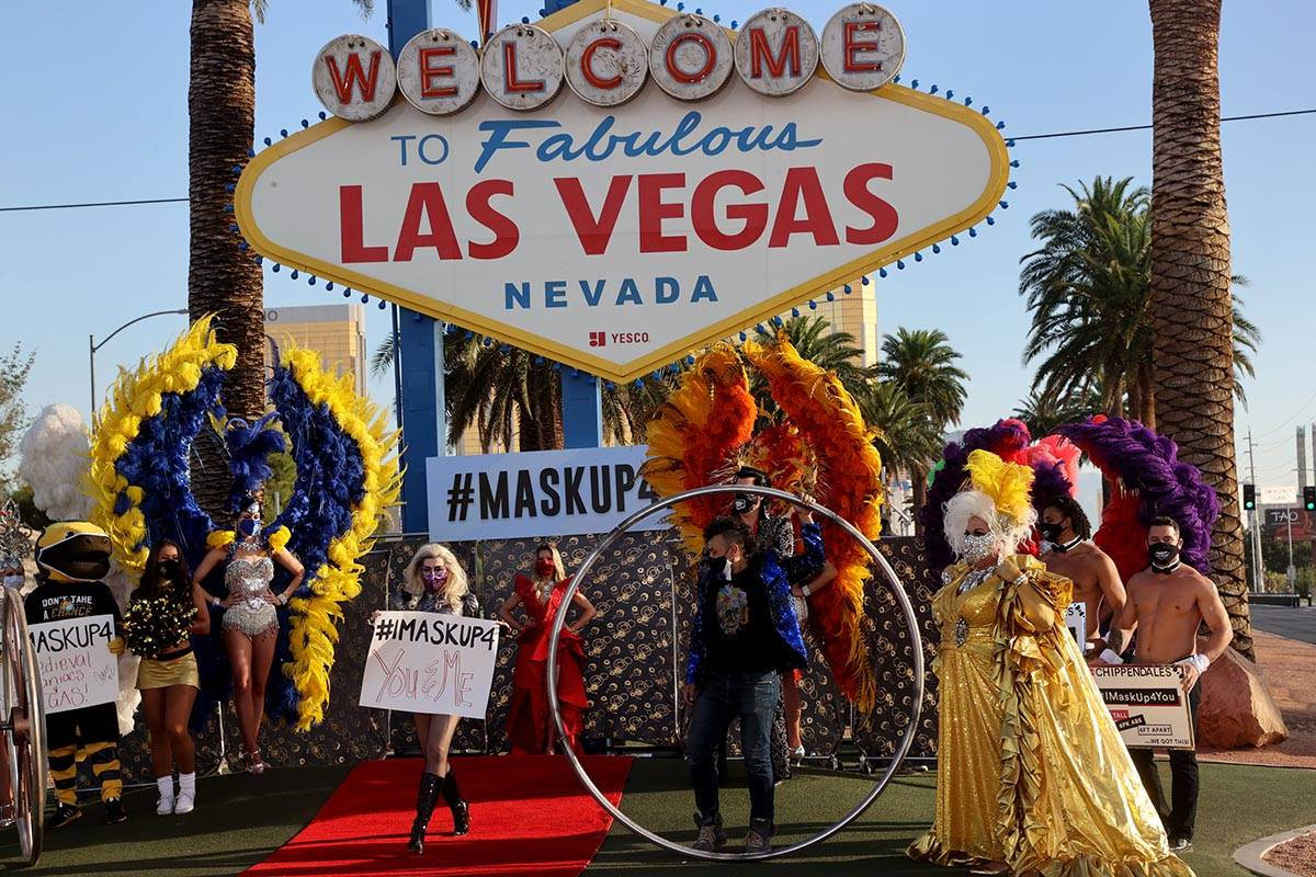 Lady Gaga Impersonator, Coty Alexander, walks the red carpet at the Welcome to Fabulous Las Veg ...