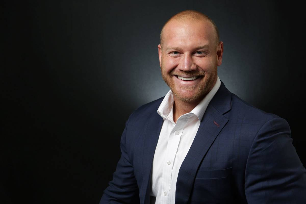 Dan Rodimer (Michael Quine/Las Vegas Review-Journal)