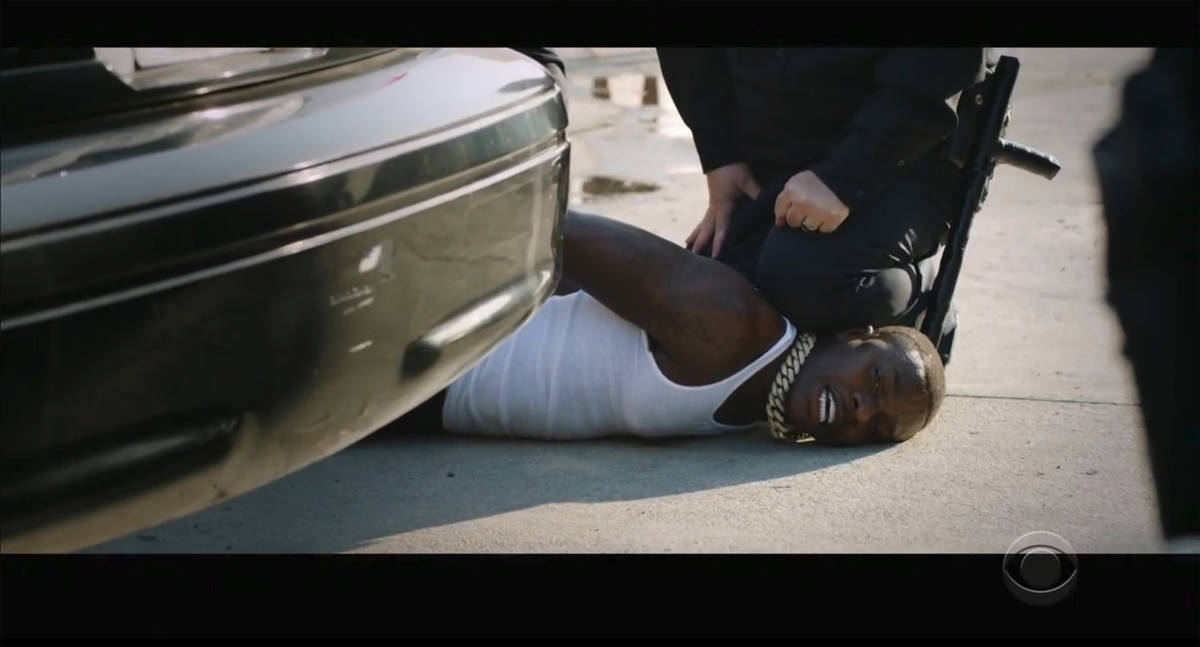 """In this video grab issued Sunday, June 28, 2020, by BET, rapper DaBaby performs """"Rockstar& ..."""