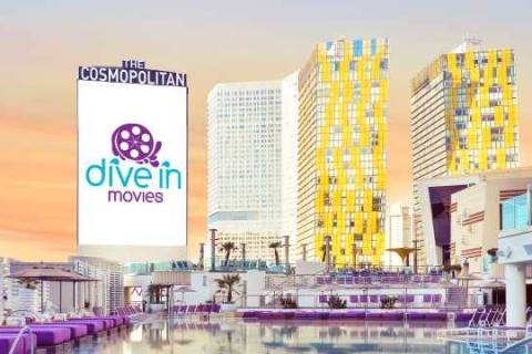 Dive In Movies return July 6 to the Boulevard Pool. (Cosmopolitan of Las Vegas)