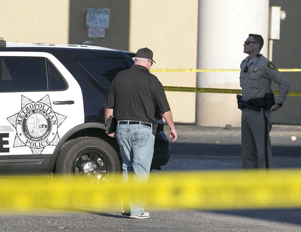 The Metropolitan Police Department is investigating a homicide at the area of East Flamingo Roa ...