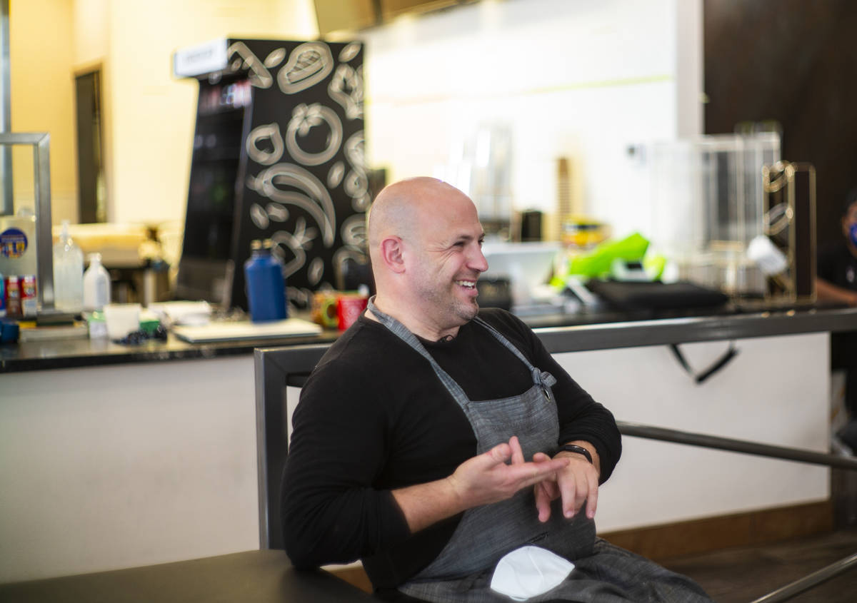 Jeffrey Weiss, co-owner and co-chef at Valencian Gold, talks about partnering with Delivering w ...