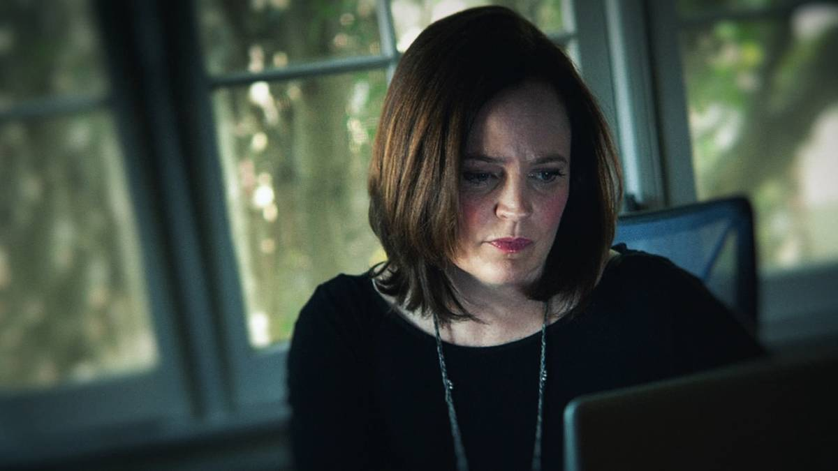 """Michelle McNamara from HBO's """"I'll Be Gone In The Dark."""" (Robyn Von Swank/HBO)"""