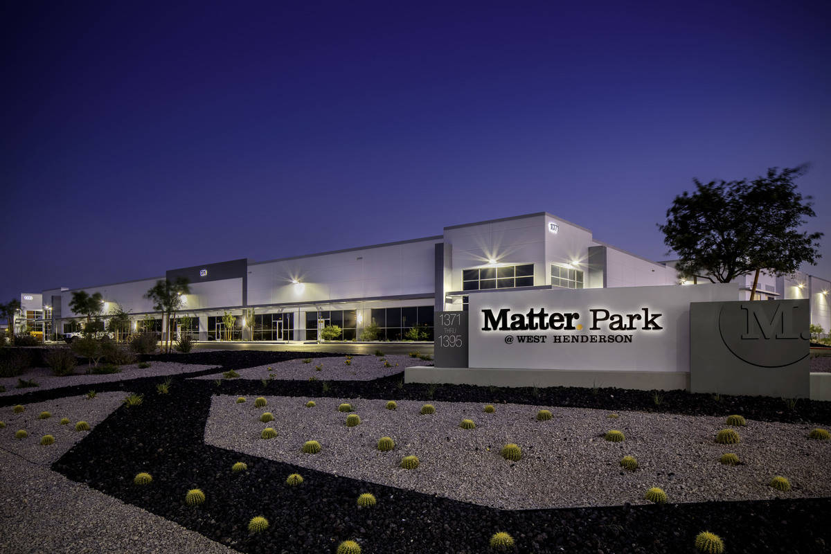 Matter Park @ West Henderson will be the new headquarters for the Las Vegas Raiderettes.&# ...