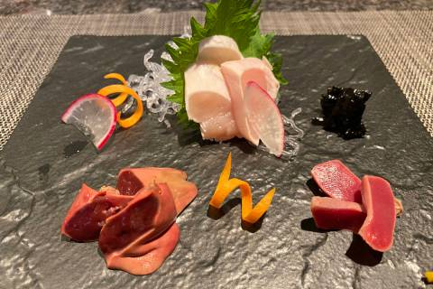Chef Mitsuo Endo's Raku Toridokoro will open at 4439 W. Flamingo Road on July 3. (Al Mancini)