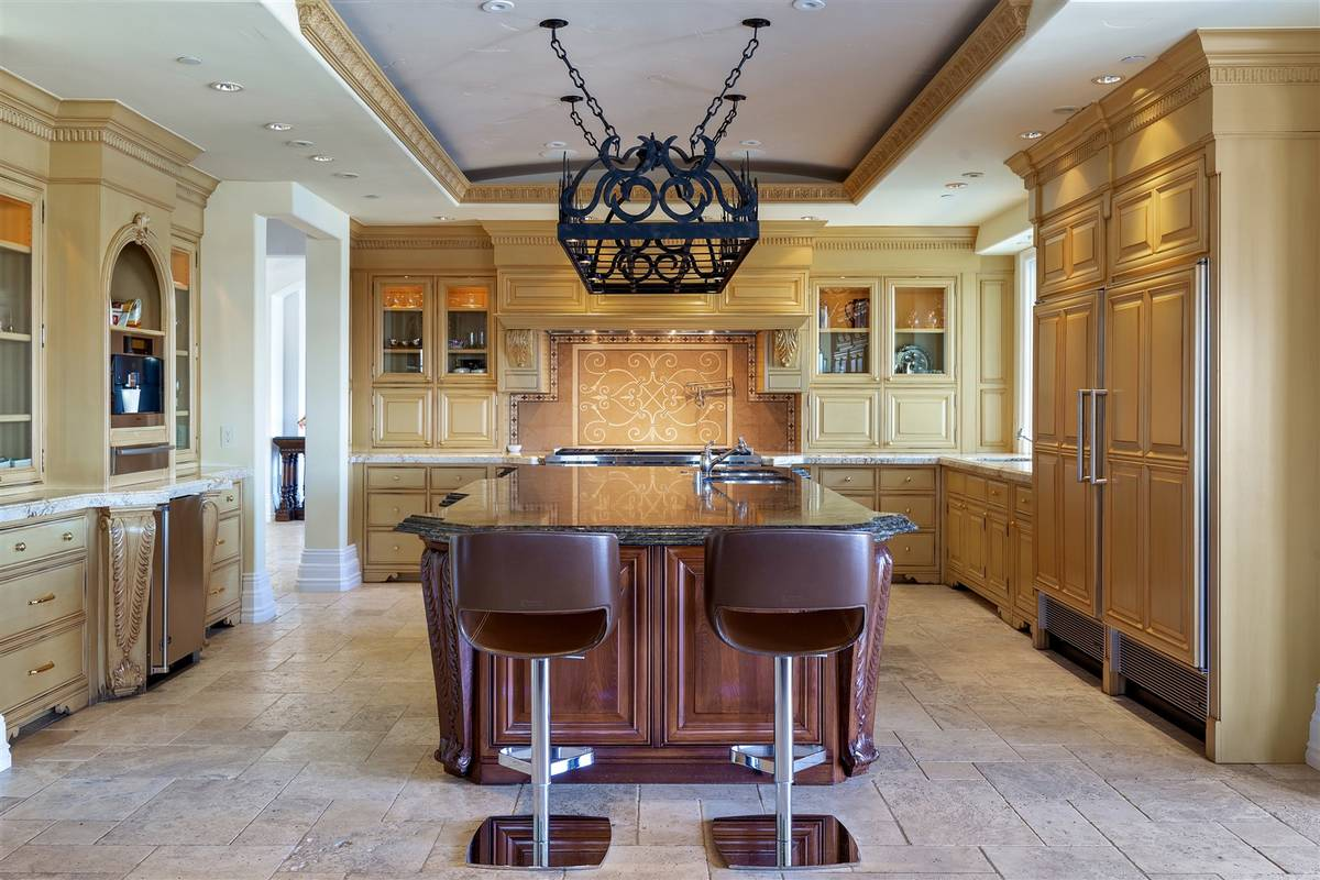One of three kitchens. (Luxurious Real Estate)
