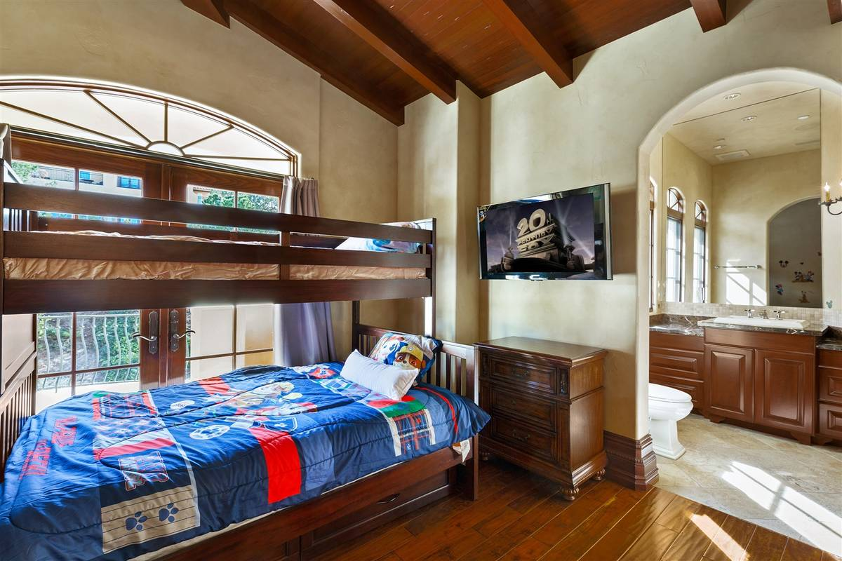 The home has five bedrooms. (Luxurious Real Estate)