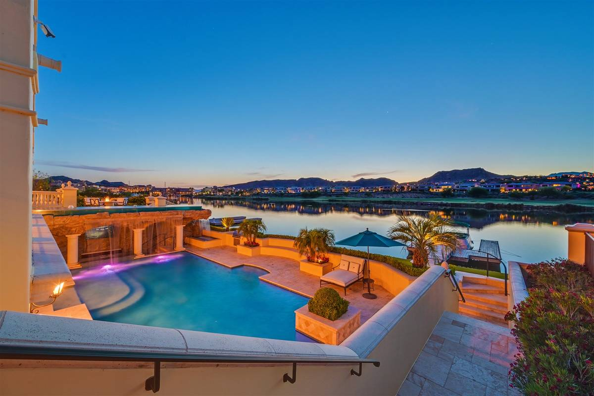 The pool area. (Luxurious Real Estate)