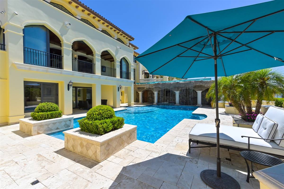The pool. (Luxurious Real Estate)