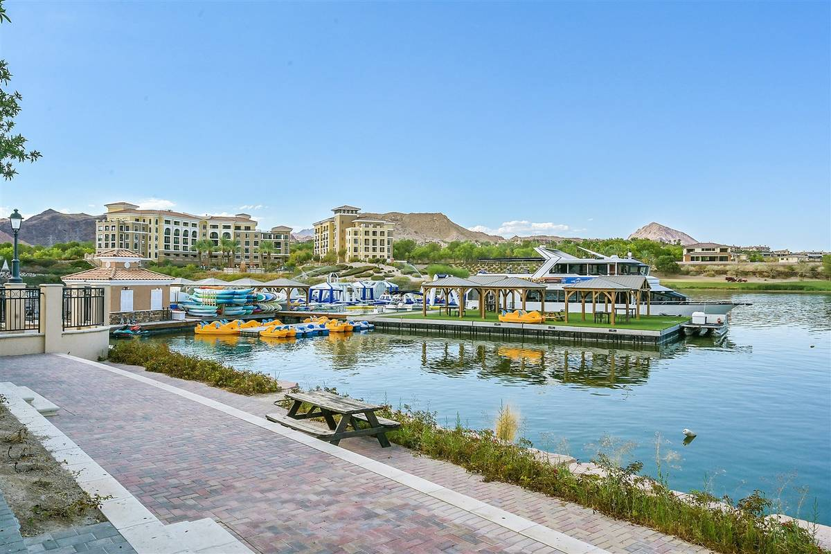 The Village at Lake Las Vegas. (Luxurious Real Estate)
