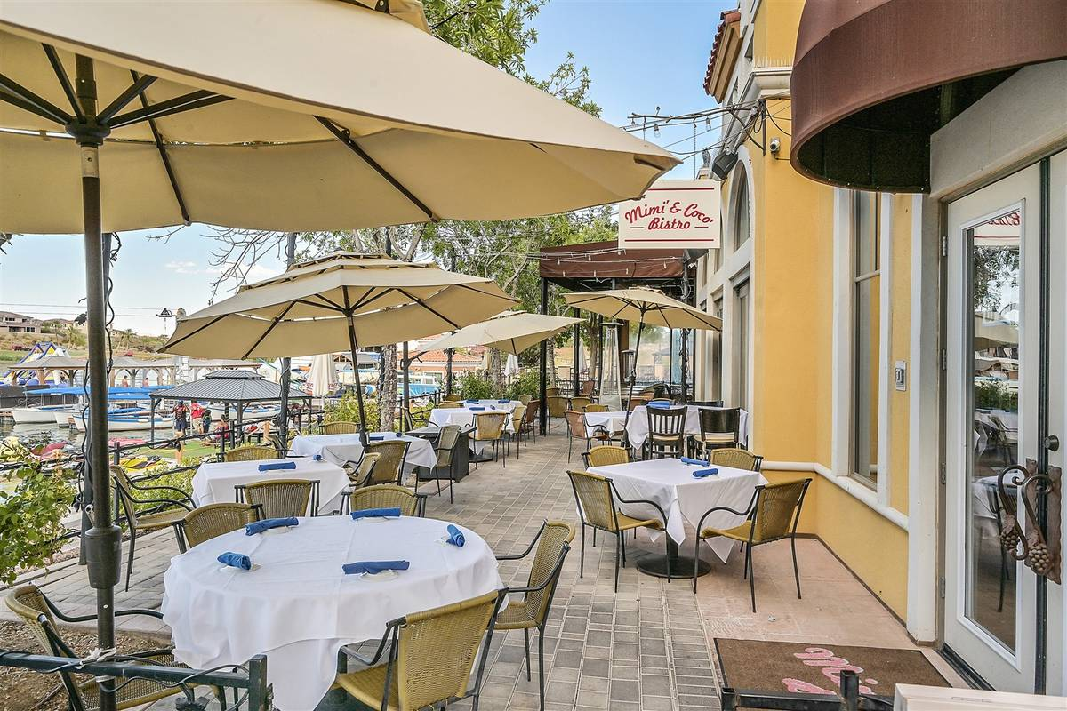 The Village at Lake Las Vegas offers several cafes and restaurants for residents and guests. (L ...