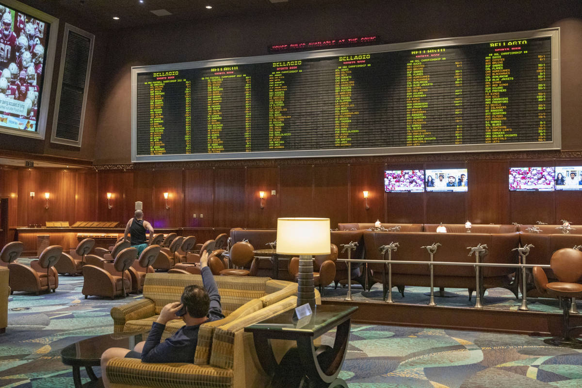 Bellagio sports book betting benfica v juventus betting preview nfl