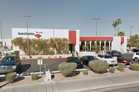 Bank of America on 4795 S. Maryland Parkway in Las Vegas (Google Maps)