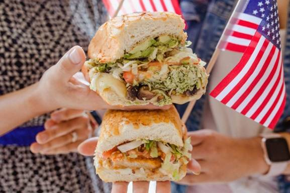 Ike's Love and Sandwiches is celebrating the 4th with a buy-one-get-one offer. (Ike's Love & ...
