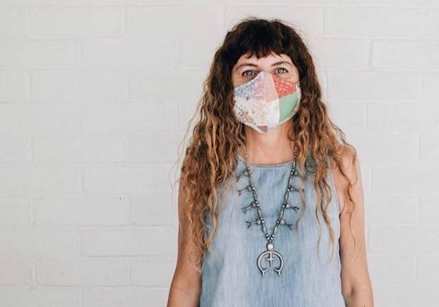 Las Vegas vintage collector Verónica Torres-Miller is making and selling face masks. (Veróni ...