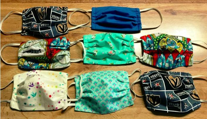 Masks available at Mary Ann's Face Mask Boutique. (Mary Ann Racheau)