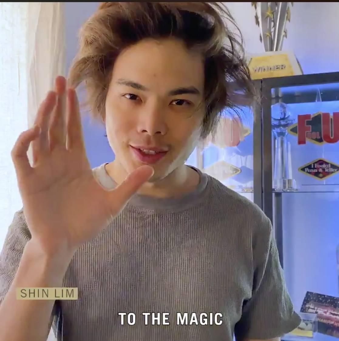 Shin Lim is shown in a new social media campaign launched by MGM Resorts International on Tuesd ...