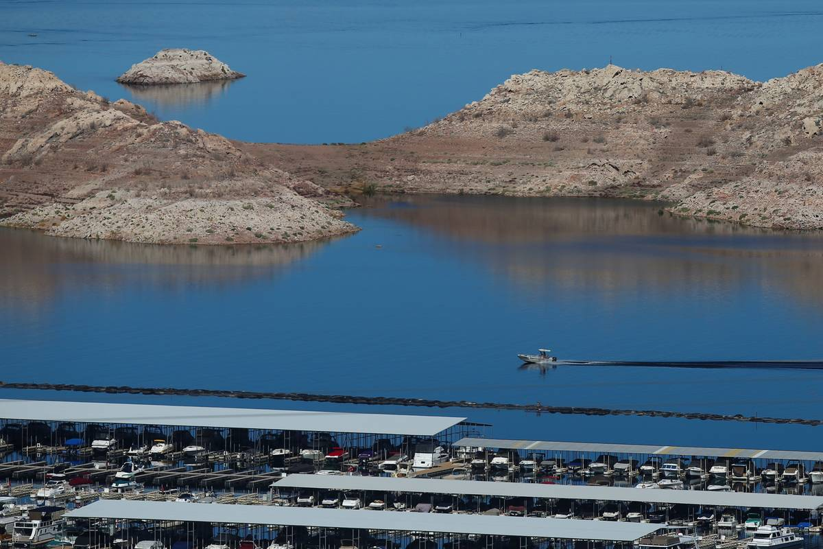 Hemenway Harbor at Lake Mead National Recreation Area (Chase Stevens/Las Vegas Review-Journal)