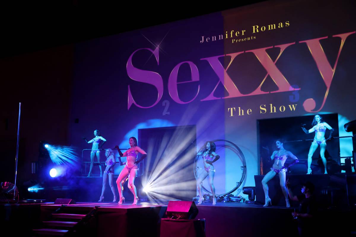 "Dancers in Jennifer Romas' ""Sexxy The Show"" at Dreamland Drive-In at FreshWata Studios in Las V ..."