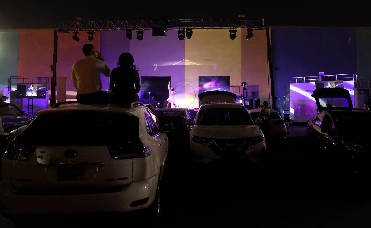 "Jennifer Romas in ""Sexxy The Show"" at Dreamland Drive-In at FreshWata Studios in Las Vegas Frid ..."