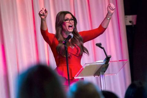 Kimberly Guilfoyle, senior adviser for Donald Trump's 2020 campaign, speaks during a leadership ...