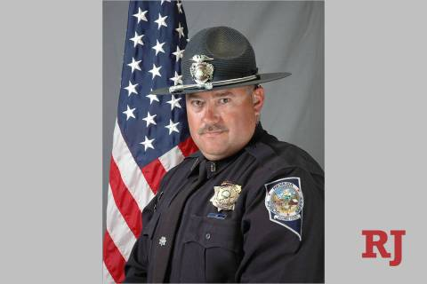 Nevada Highway Patrol trooper Sgt. Ben Jenkins. (Nevada Highway Patrol)