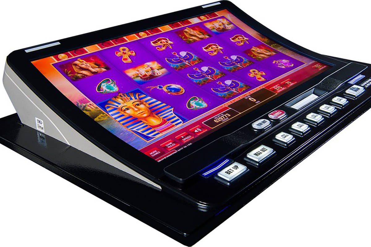 The PeakBarTop cabinet has been introduced at six Southern Nevada casino properties. (Courtesy, ...