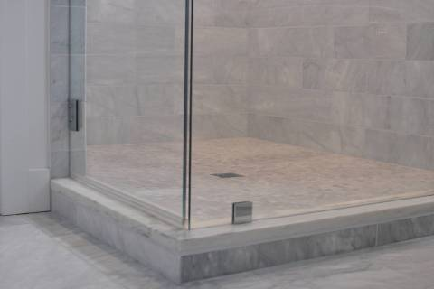 If your shower door is rubbing on the bottom track, you might first look at the shower sweep, w ...