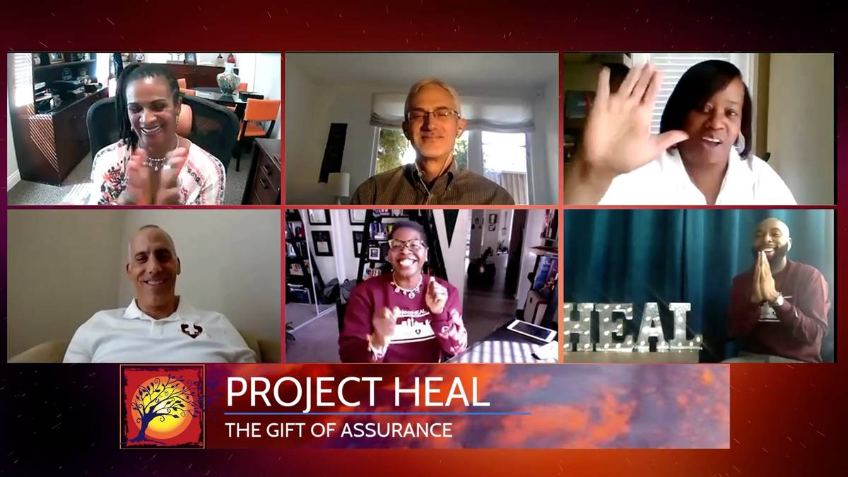 ProjectHEAL in conjunction with Lee Antonello Elementary School wins the Gift of Assurance. (Th ...