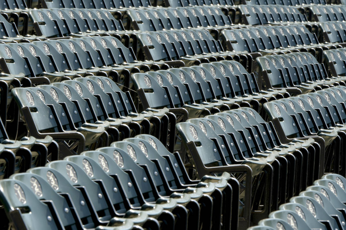 Empty seats will be the norm when regular season baseball returns for the Chicago White Sox at ...