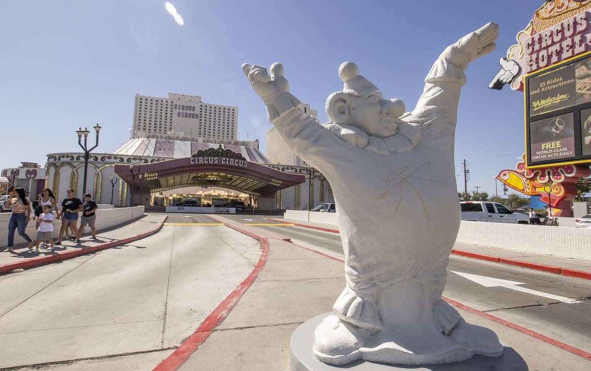 Circus Circus is reopened following the coronavirus-caused shutdown on Sunday, June 7, 2020 in ...