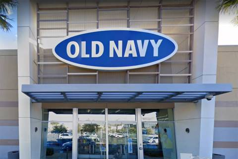 Old Navy in Downtown Summerlin is seen in a screenshot. (Google)