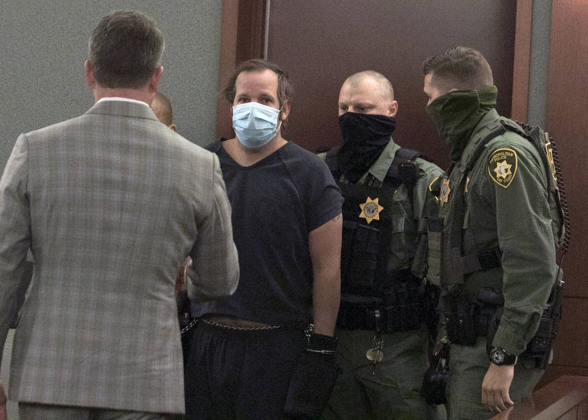 Stephen Parshall, one of three alleged boogaloo extremists charged with planning violence at th ...