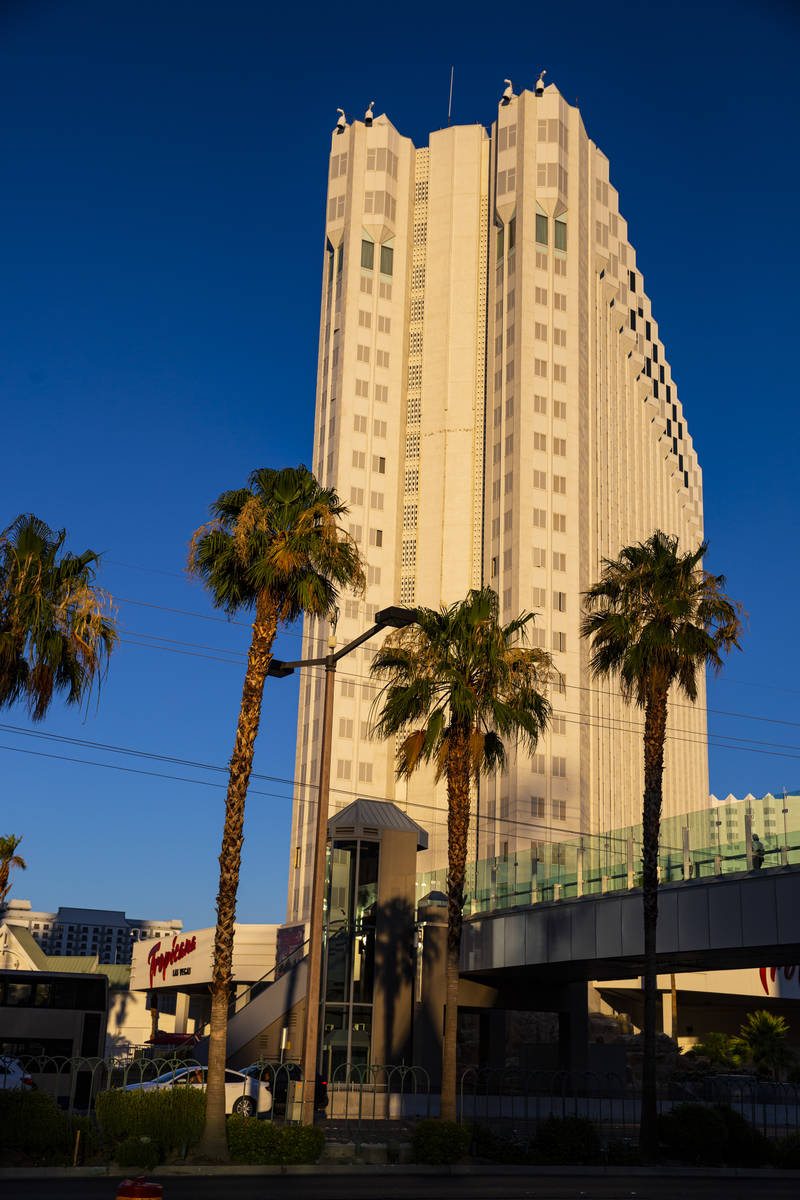 A view of the Tropicana Las Vegas, which remains closed despite casino reopenings across the st ...