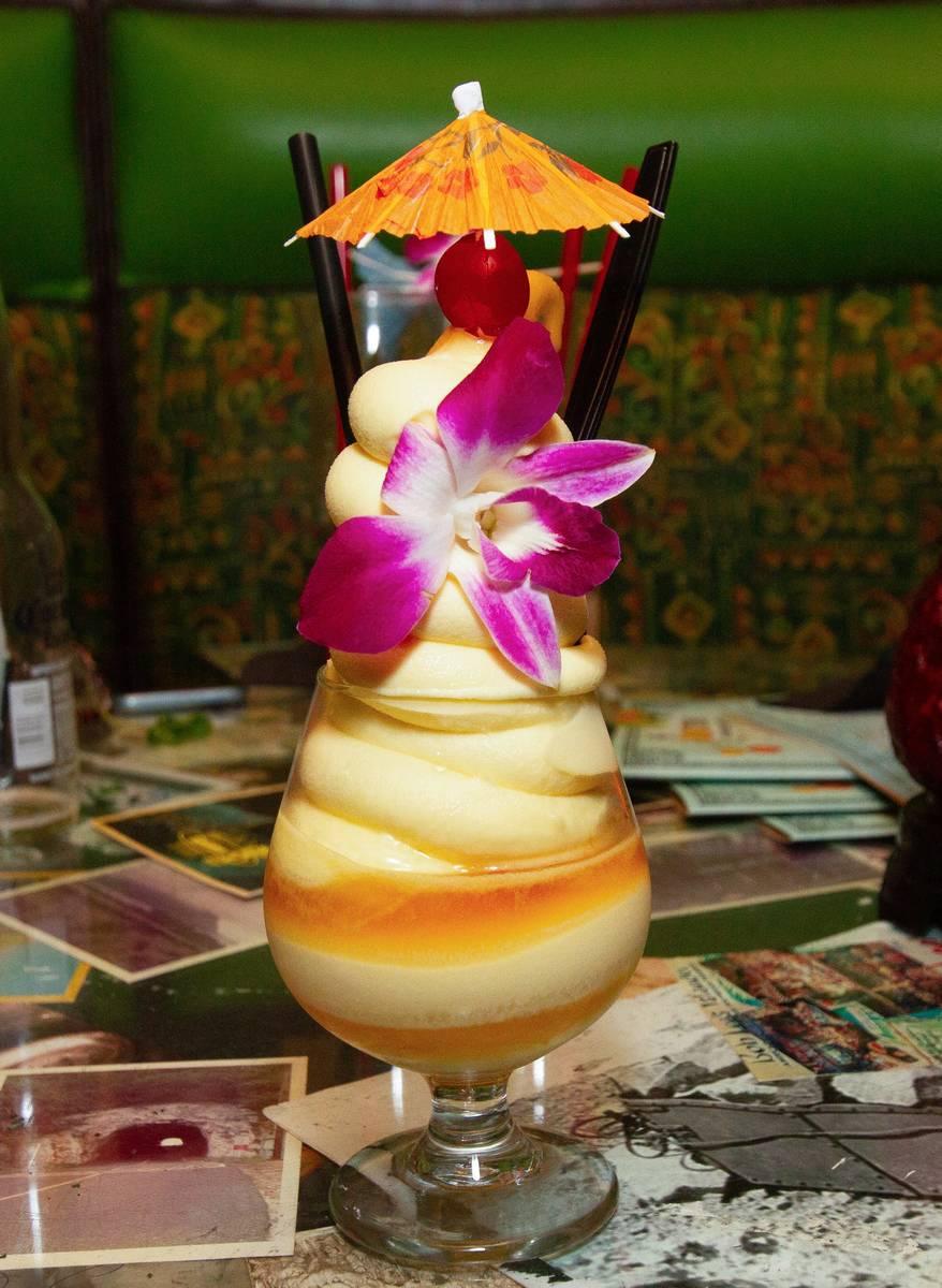 Dole Whip cocktail at The Golden Tiki (The Golden Tiki)