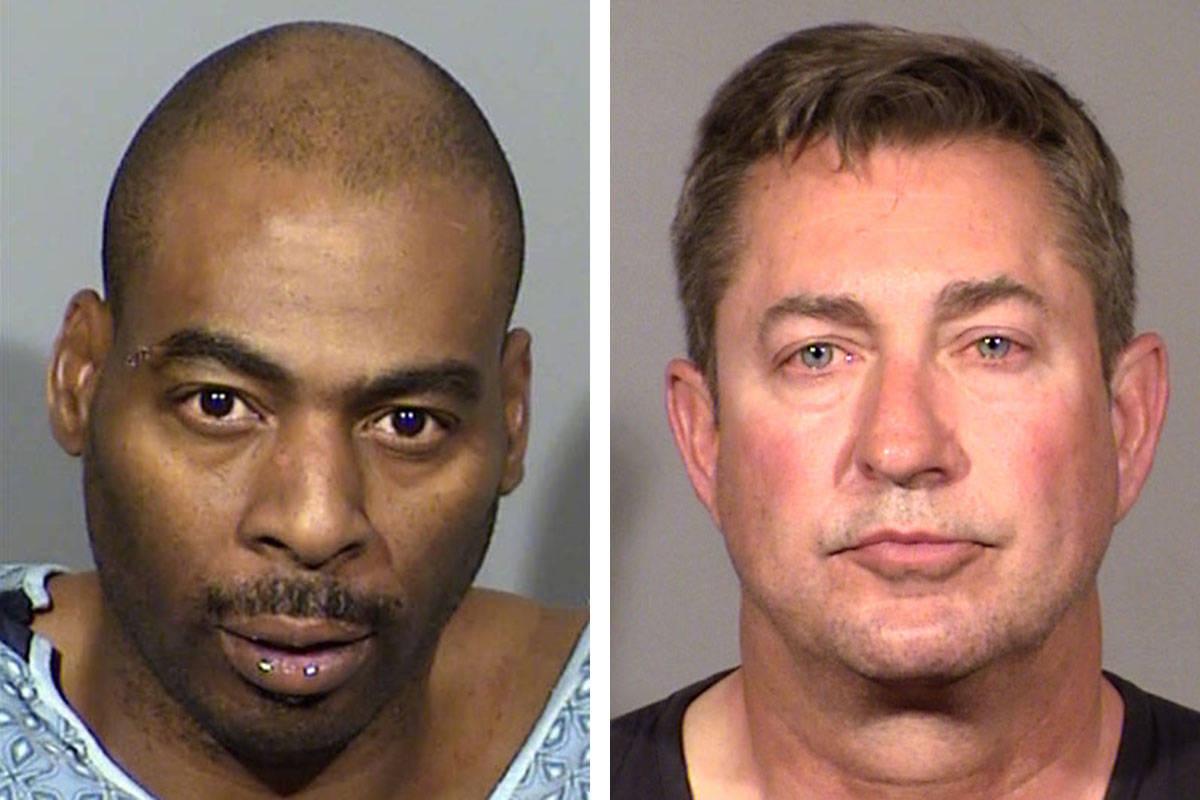 Ronald Leavell, left, and Scott Gragson (Las Vegas Metropolitan Police Department)