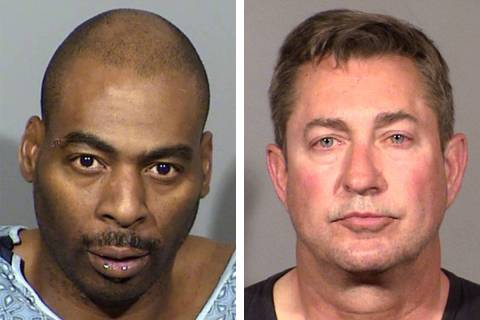 Ronald Leavell, left, and Scott Gragson (Las Vegas Metropolitan Police Department)