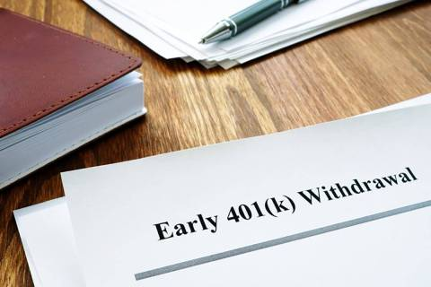 Because of the severe financial penalties, withdrawing money early from retirement accounts sho ...