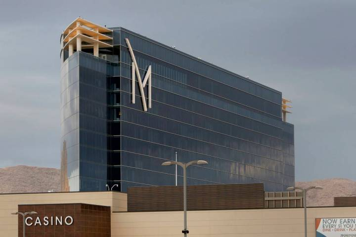 This May 1, 2018, file photo shows the exterior of M Resort Spa Casino in Henderson. (Bizuayehu ...