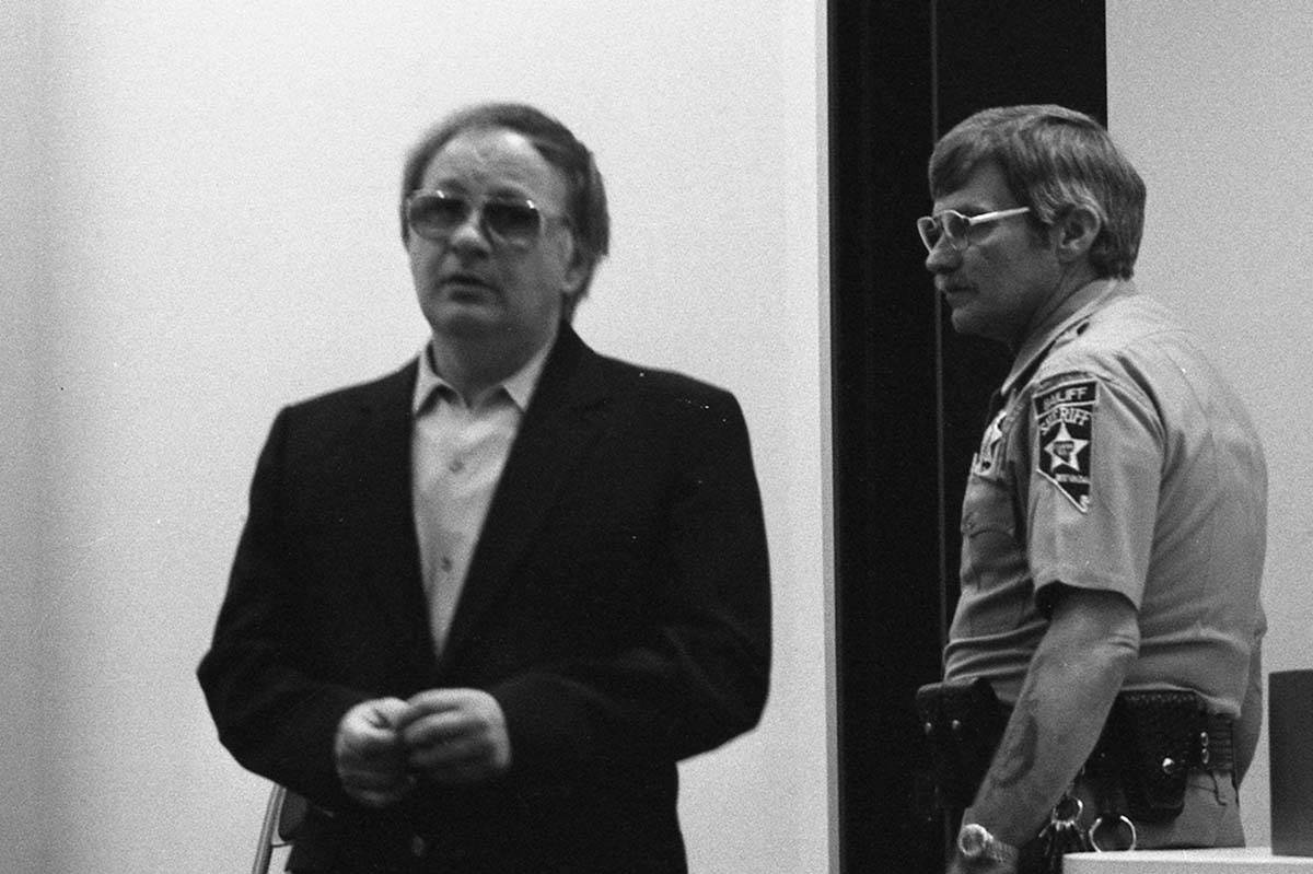 Frank Cullotta, 44, appears in District Court for a sentencing hearing in May 1982. (Las Vegas ...